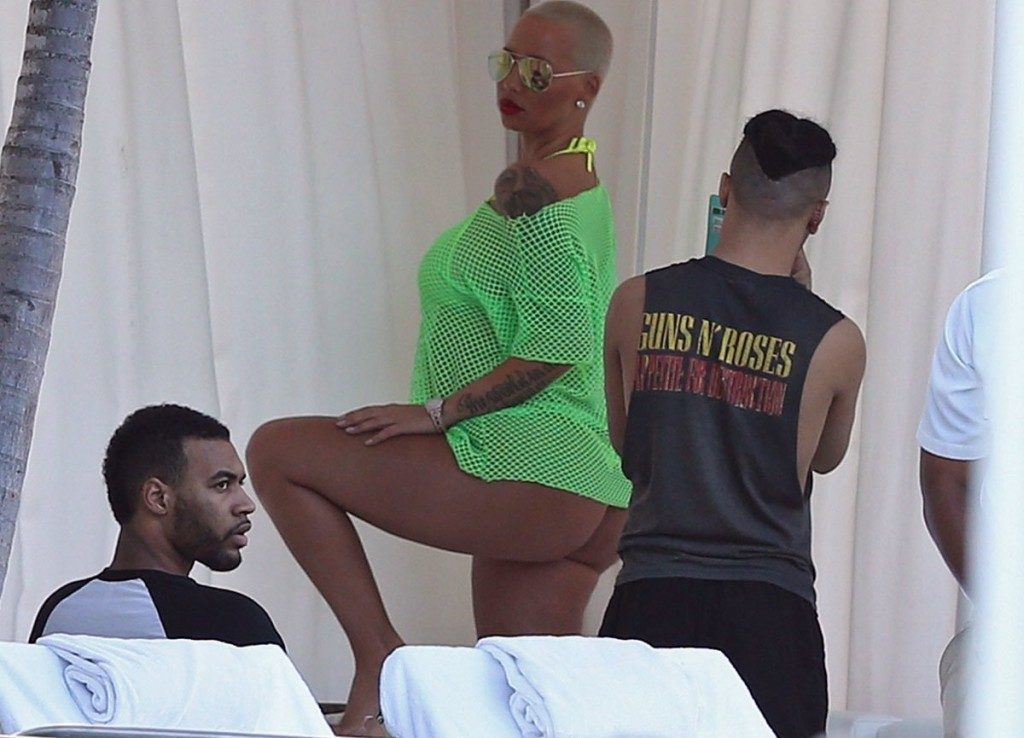 Amber Rose see through top (2)