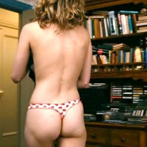 Brie Larson topless showing ass cheeks in thong fappening leak