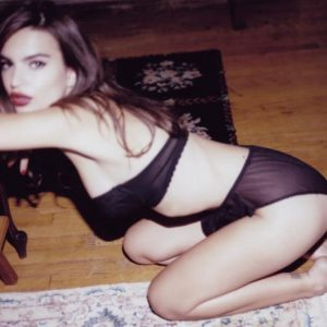 Fantastic Polaroid Shoot with Emily Ratajkowski (from Jonathan Leder)
