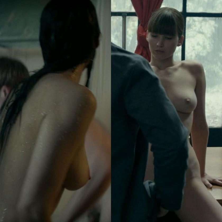 Jennifer Lawrence tits Red Sparrow