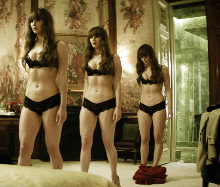 Jennifer Lawrrence body in Red Sparrow