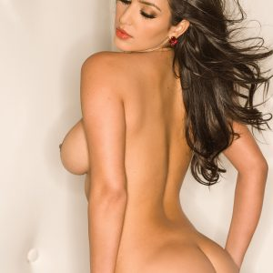 kim kardashian tit exposed and ass visible in playboy magazine