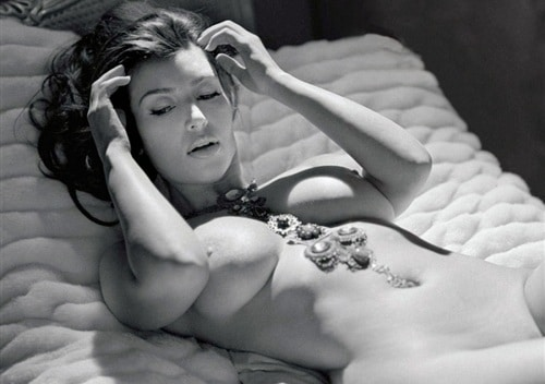 kim kardashian black and white nude pic for playboy