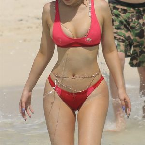 kylie jenner bikini for birthday in turks and caicos