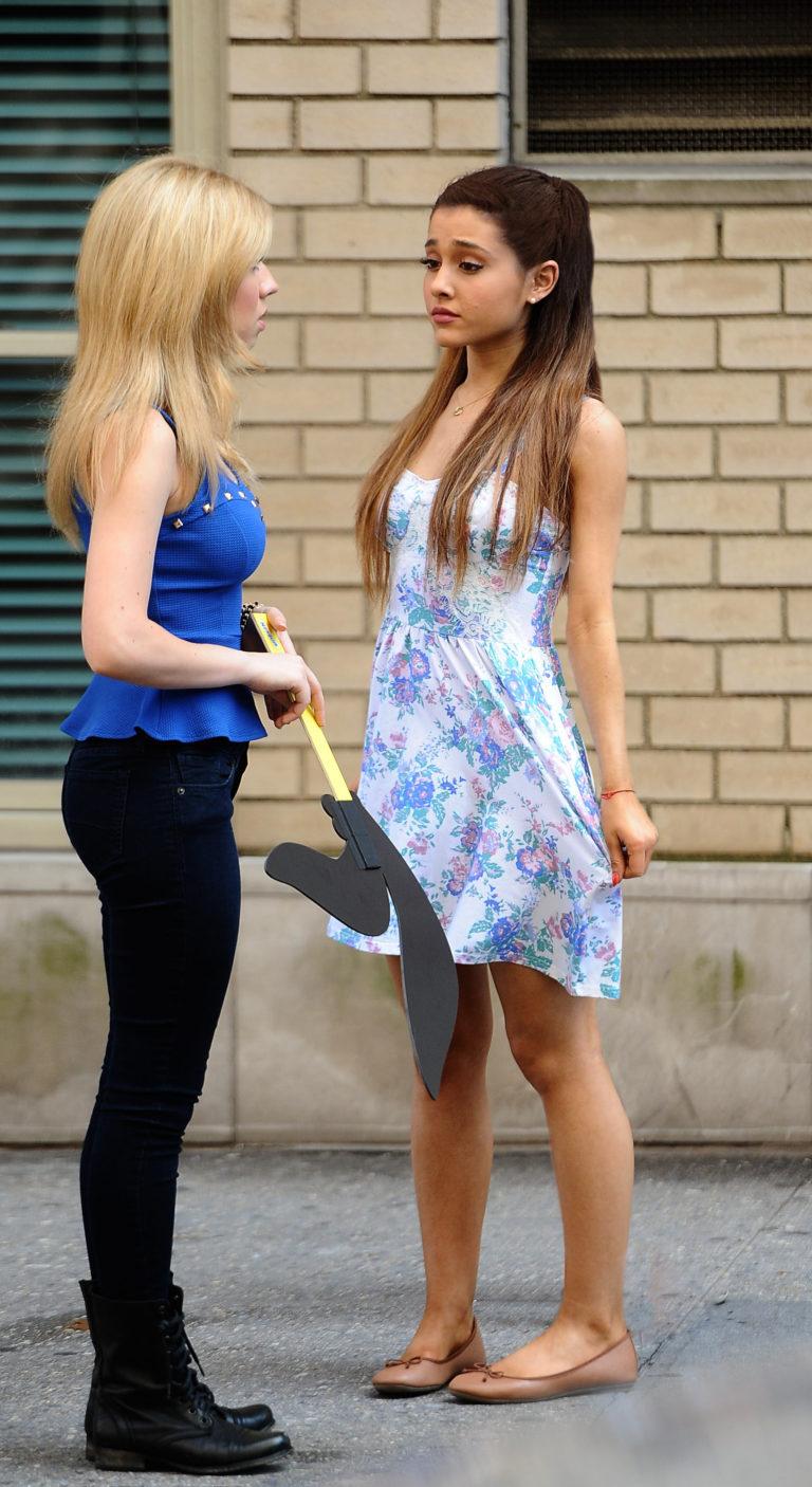 Ariana Grande summer dress slut