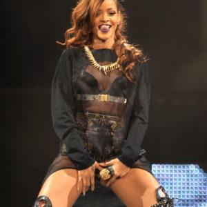 Rihanna is naughty