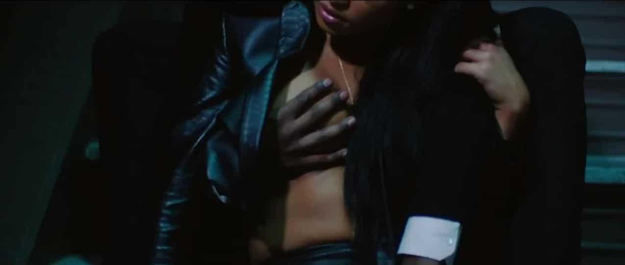 Cassie Ventura nude titties (12)