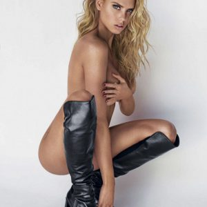 model charlotte mckinney naked with boots on
