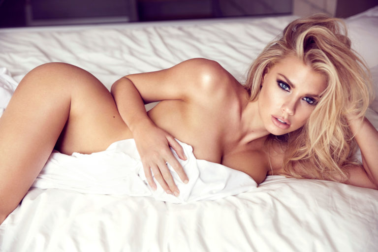 Charlotte McKinney sexy shoot undressed (4)