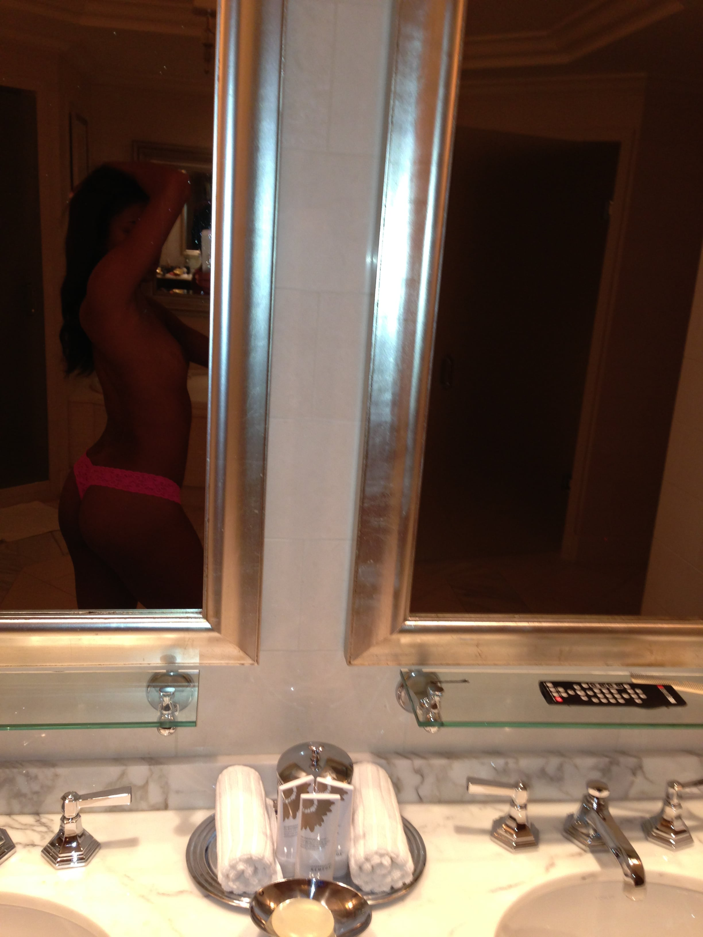 sexy pink thong and topless pic of gabrielle union