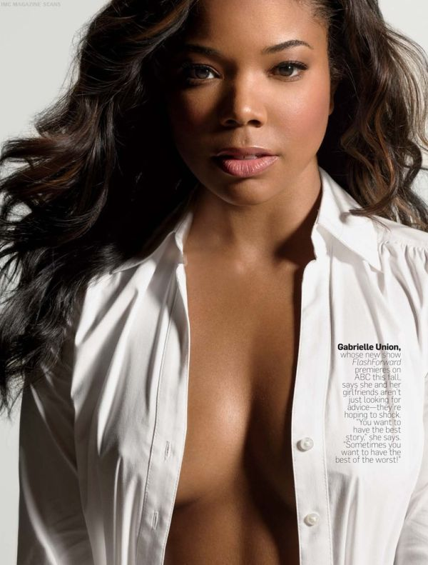 Gabrielle Union naked shoot (1)