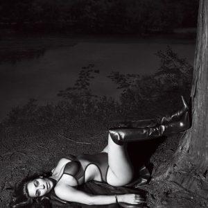 kim kardashian revealing gq magazine photos - nipples visible