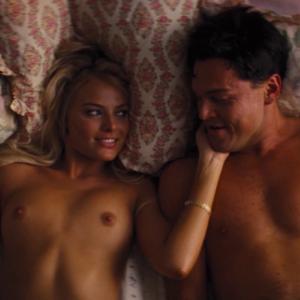 Margot Robbie Sex Scene Wolf of Wall Street (2)