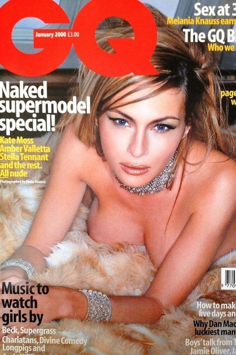 Melania Trump GQ cover