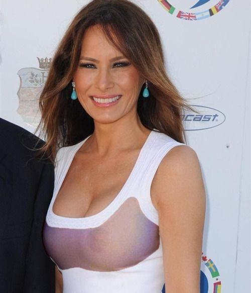 Melania Trump nipple