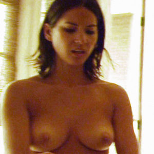 Olivia Munn Topless in Magic Mike Movie