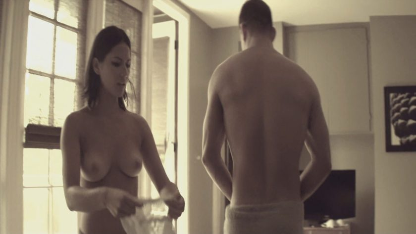 Olivia Munn topless Magic Mike (4)