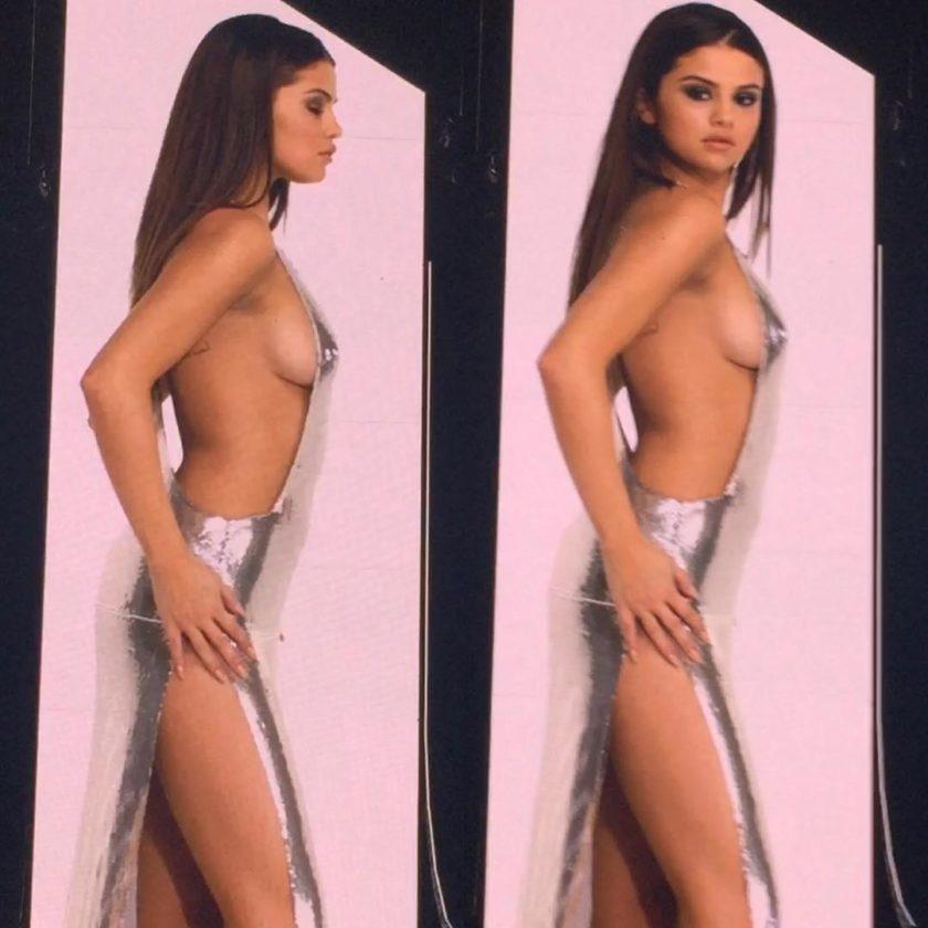 Selena Gomez side boob (2)