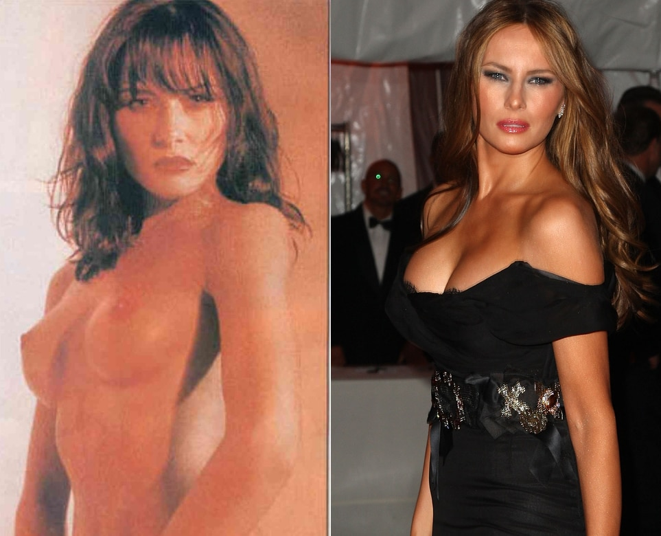 Melania Trump nude on/off