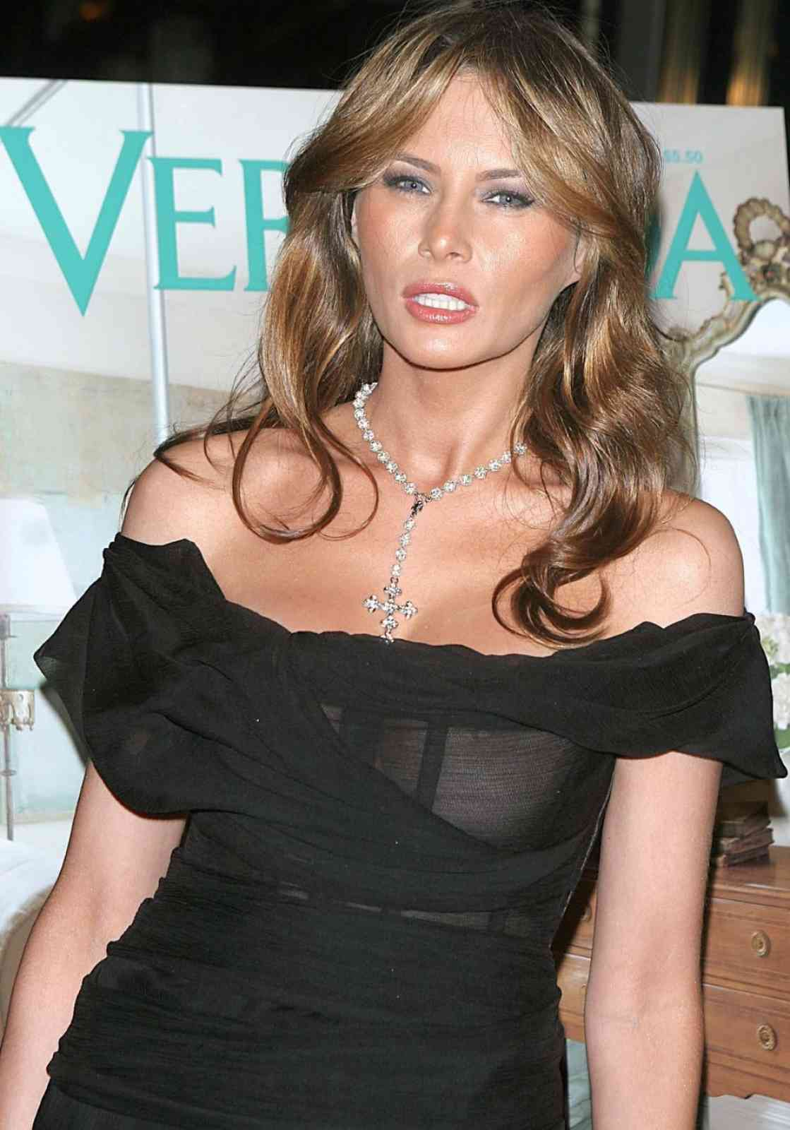Melania Trump tits and nipple