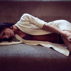 Ashley Greene strips down