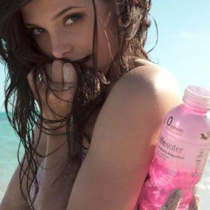 Ashley Greene body paint shoot (1)