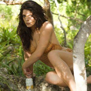 Ashley Greene body paint shoot (14)
