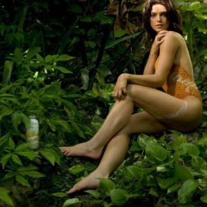 Ashley Greene body paint shoot (2)
