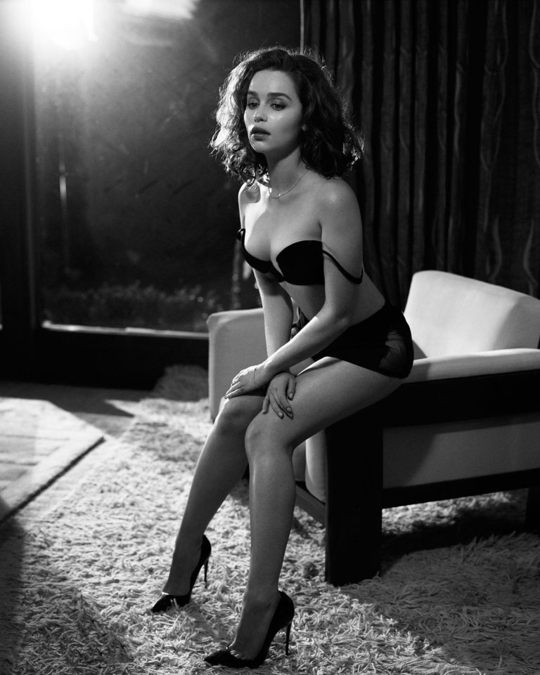Emilia Clarke Topless and sexy shoot (3)