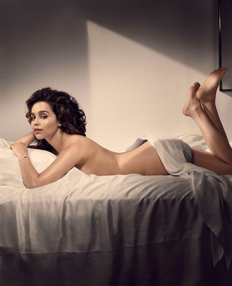 Emilia Clarke Topless and sexy shoot (5)