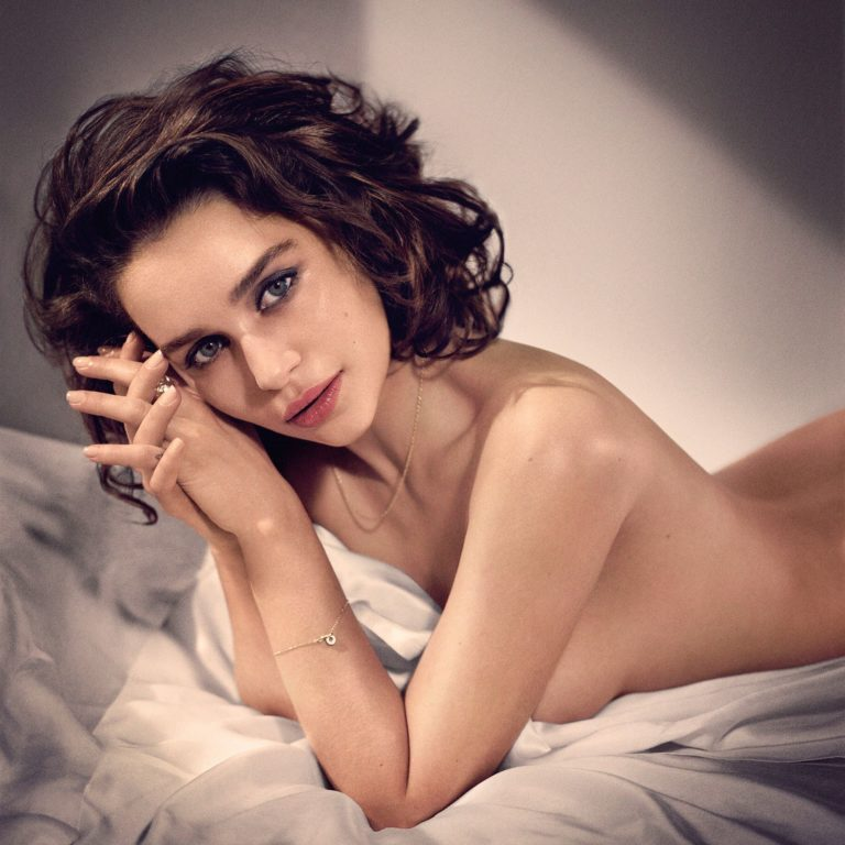 Emilia Clarke Topless and sexy shoot (6)