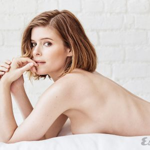 topless pic of kate mara modeling