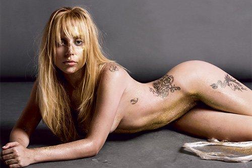 Lady gaga fully naked