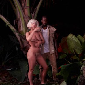 lady gaga nude pics with kanye west exposed