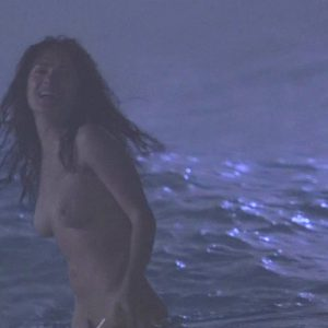 totally naked salma hayek in the water in ask the dust