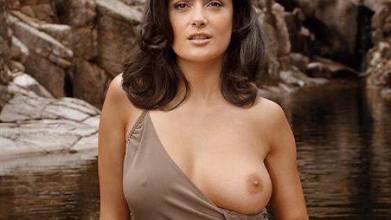 Salma haik naked #14