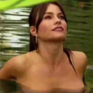 nipples peeping through the water of sofia vergara