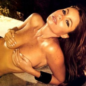 topless sofia vergara grabbing her big tits