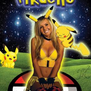 poster of pikachu gril jessica nigri