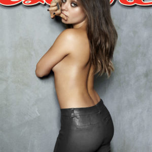 Ukrainian actress mila kunis topless for esquire magazine
