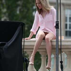 crotch shot of amanda seyfried revealed in paris modeling shoot