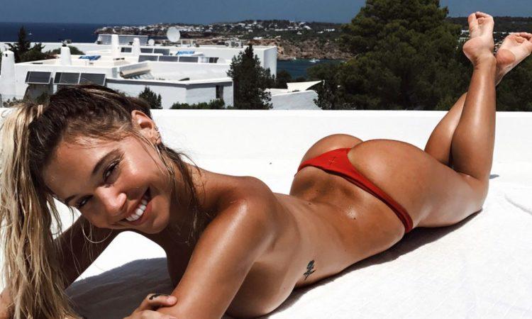 Alexis Ren naked ass