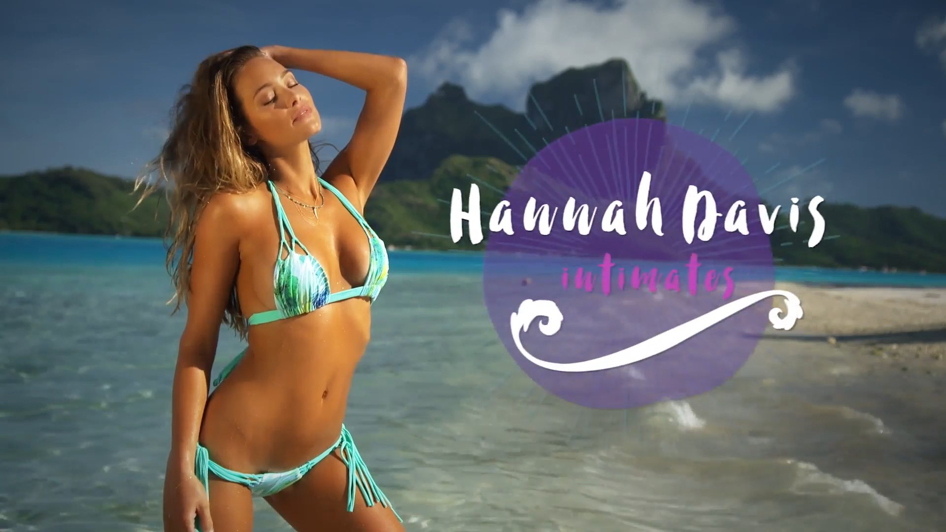 Hannah Davis Intimates Photo
