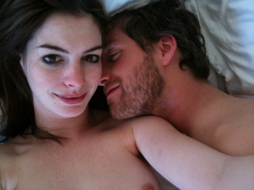 Anne Hathaway fappening leak with her lover
