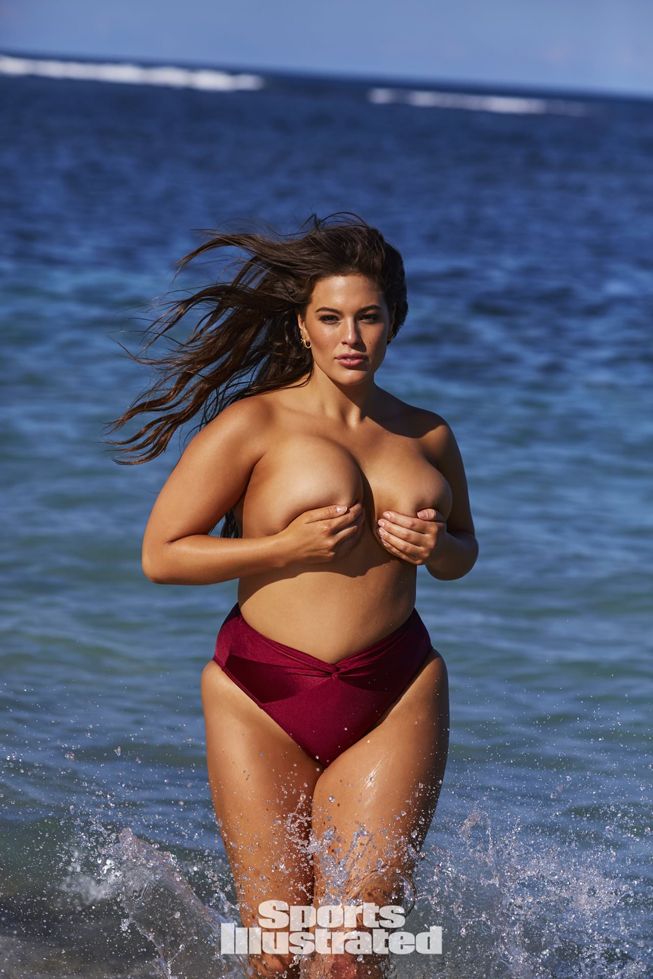 Ashley Graham sexy naked