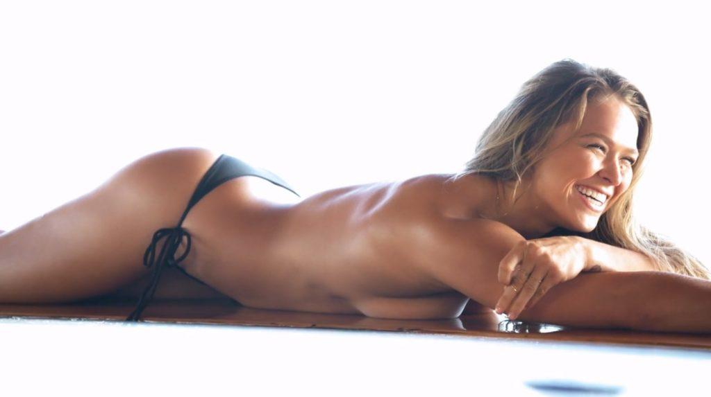 Ronda Rousey ass