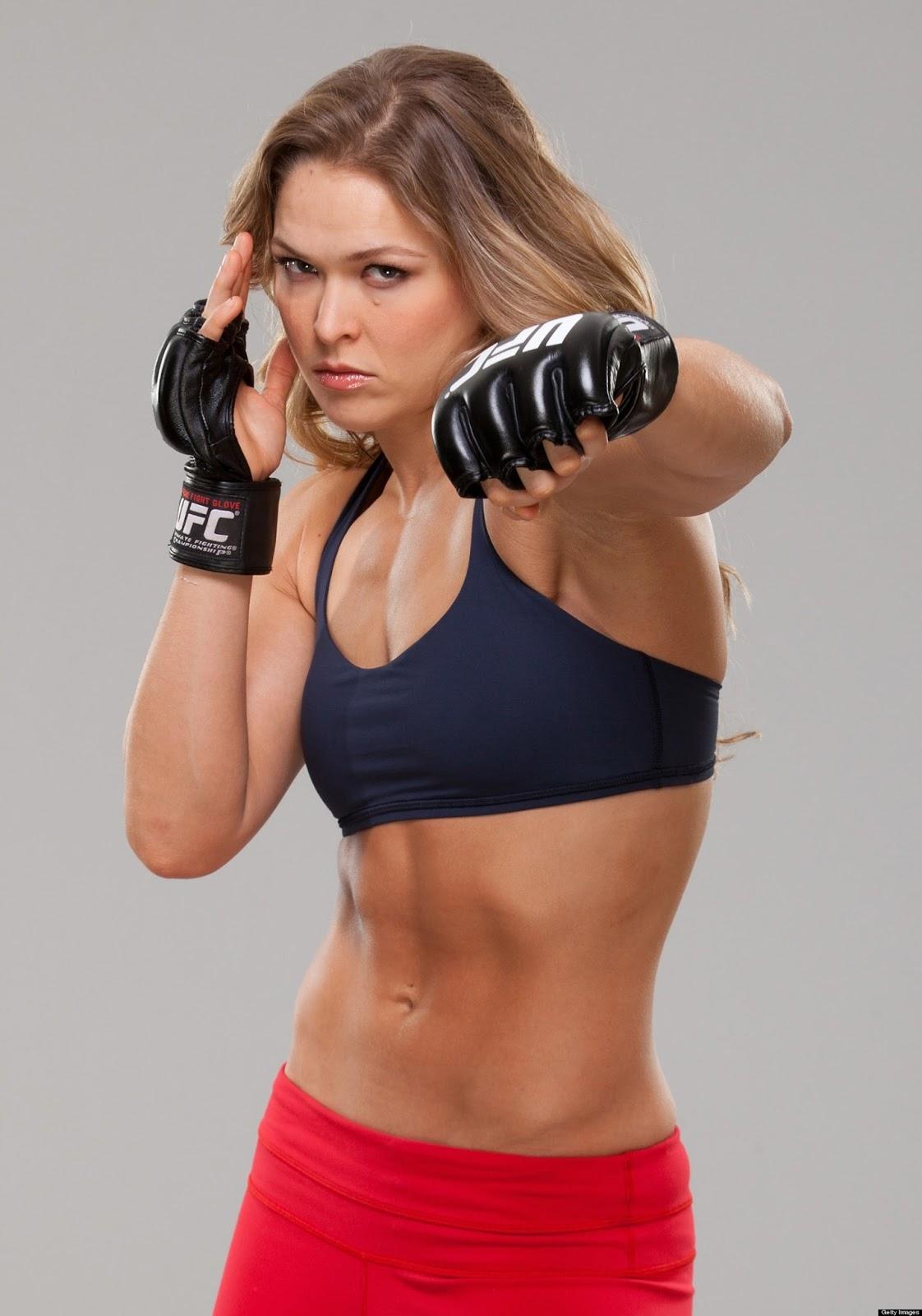 Ronda Rousey butt