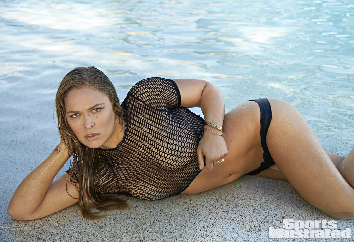 Ronda Rousey nude boobs