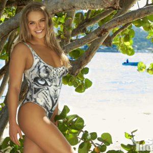 Ronda Rousey posing