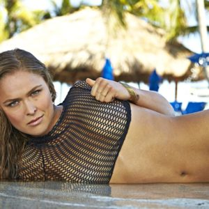 Ronda Rousey small boobs